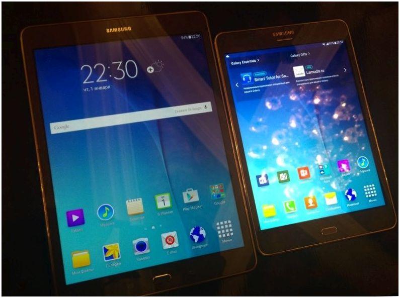 Galaxy Tab A: первые впечатления от новых планшетов Samsung