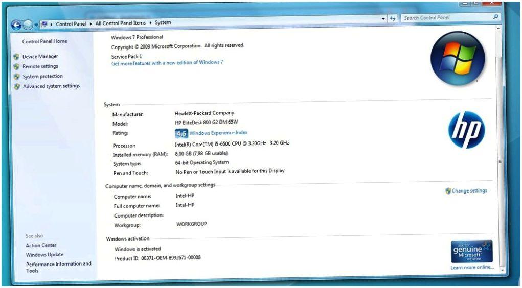 Обзор мини-ПК HP EliteDesk 800 G2: малыш с задатками