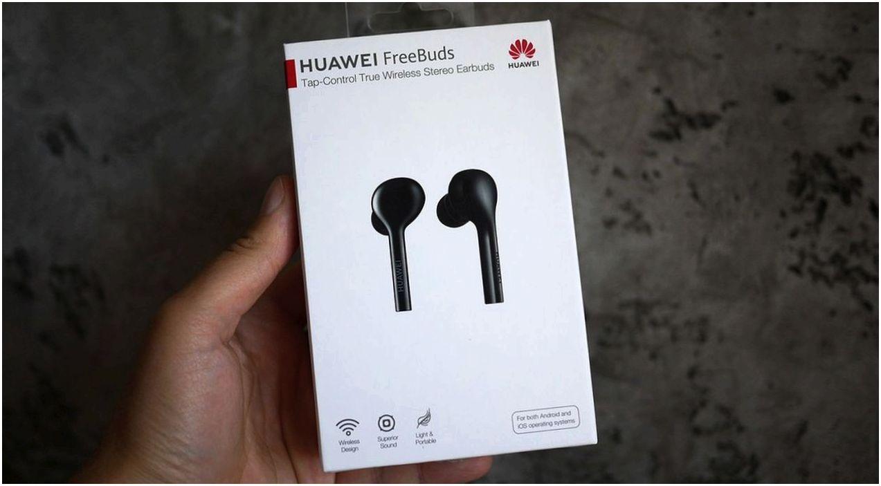 Обзор наушников Huawei FreeBuds: будущее без проводов