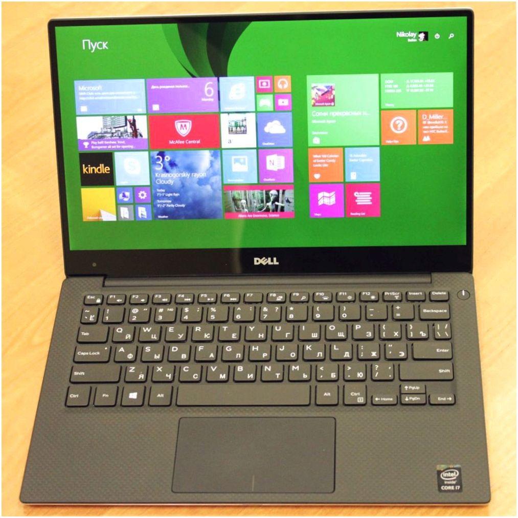 """Обзор ноутбука Dell XPS 13 2015: """"бескрайняя"""" компактность"""