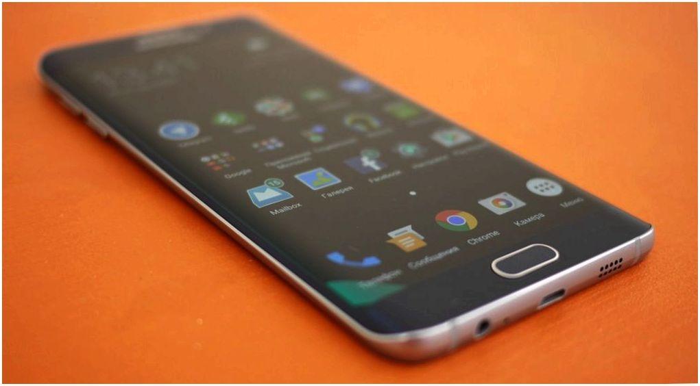 Обзор смартфона Samsung Galaxy S6 Edge+: большой изгиб