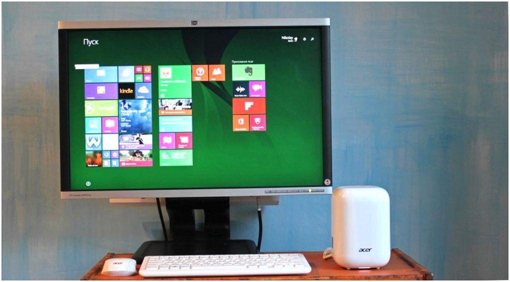 Обзор Acer Revo One: свежий взгляд на настольный ПК