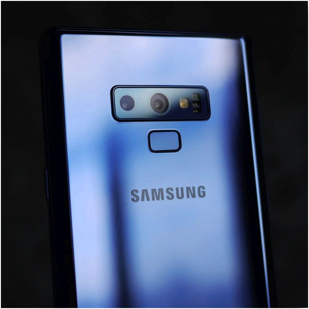 Обзор Samsung Galaxy Note9: всего, и побольше