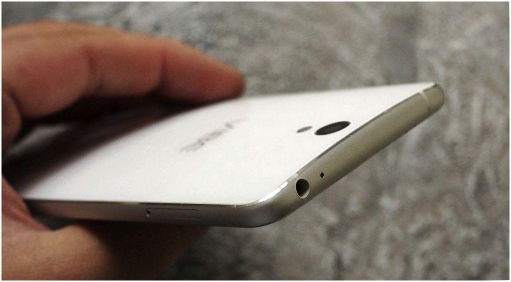 Обзор смартфона Lenovo Vibe S1: дуэт для селфи