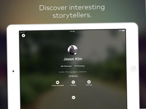 Приложение для iPad позволяет рассказывать фотоистории