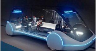 концепт скоростного подземного электробуса