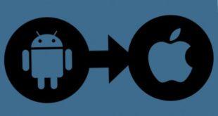 перейти с Android на iPhone